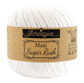 Scheepjes Maxi Sugar Rush 106 Snow White
