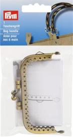 TASSLUITING FIONA 8,5x4,5cm OUD MESSING