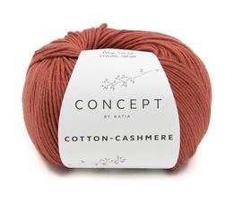 Katia Concept Cotton-Cashmere 74 - Roestbruin
