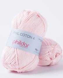 Phildar Coton 4 Rosee