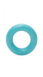 Durable plastic ringetjes blauw 20 mm (298)