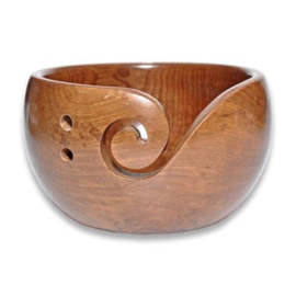 Durable houten yarn bowl 020.1065
