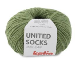 Katia United Socks 21 - Kaki