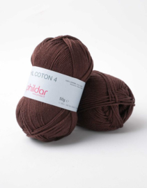 Phildar Coton 4 Marron