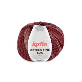 Katia Azteca Fine Lux 404 - Rood-Wijnrood-Zwart