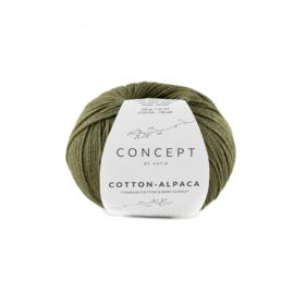 Katia Concept Cotton-Alpaca 101 - Kaki