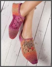 Azteca slippers kl 7852 + Gratis Patroon