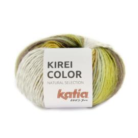 Katia Kirei color 304 - Groen-Pistache-Camel-Lila