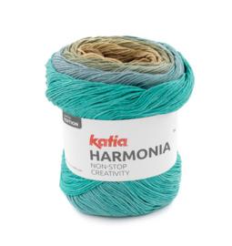 Katia Harmonia 209 - Groen-Waterblauw-Beige