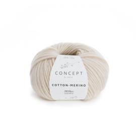 Katia Concept Cotton - Merino 101 - Licht beige