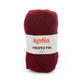 Katia Promo Fin 580 - Donker wijnrood