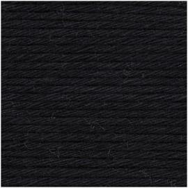 Rico Creative Cotton Aran 90 Black