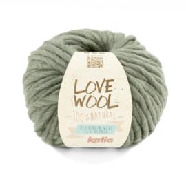 Katia Love Wool 127 - Resedagroen