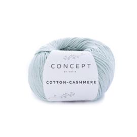 Katia Concept Cotton-Cashmere 67 - Witgroen