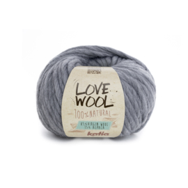 Katia Love Wool 106 - Licht grijs