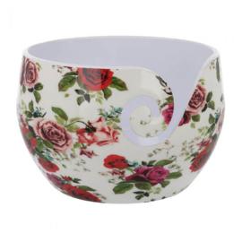 Scheepjes Yarn bowl Roses onbreekbaar 13,5x9cm