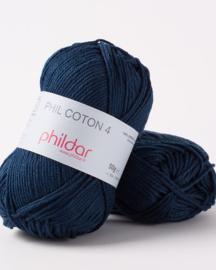 Phildar Coton 4 Naval