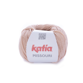 Katia Missouri 20 - Zeer licht bleekrood
