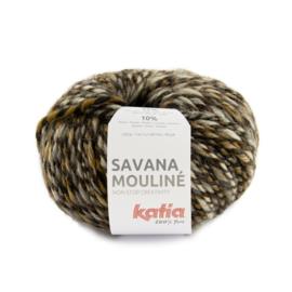 Katia Savana Mouline 201 - Bruin-Licht bruin-Donker bruin