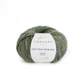 Katia Concept Cotton - Merino 122 - Bleekgroen