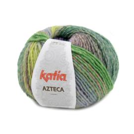Katia Azteca 7874 - Paars-Pistache-Groen-Oranje