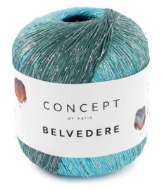 Katia Concept Belvedere 305 - Blauw-Groenblauw-Zwart