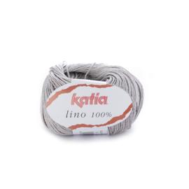 Katia Lino 100% 8 - Parelmoer-lichtgrijs