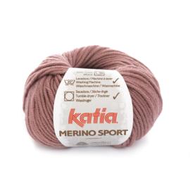 Katia Merino Sport 55 - Donker bleekrood