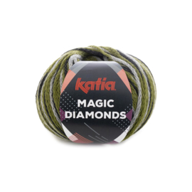 Katia Magic Diamonds 60 - Groen-Grijs-Zwart