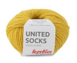 Katia United Socks 19 - Mosterdgeel
