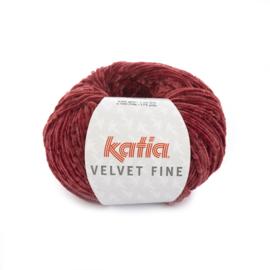 Katia Velvet Fine 213 - Donker fuchsia