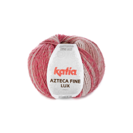 Katia Azteca Fine Lux 401 - Lichtroze-Bleekrood-Steengrijs