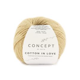 Katia Concept Cotton in Love 57 - Beige-Donker beige