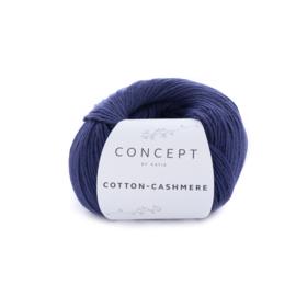 Katia Concept Cotton-Cashmere 62 - Donker blauw