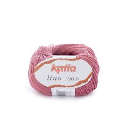 Katia Lino 100% 30 - Bleekrood
