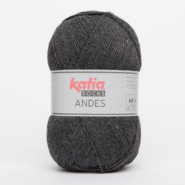 Katia Andes Socks 205 Donkergrijs