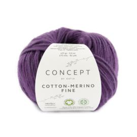 Katia Concept Cotton merino Fine 96 - Aubergine