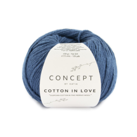 Katia Concept Cotton in Love 63 - Blauw-Groenblauw
