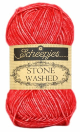 Scheepjes Stone Washed 823 Carnelian