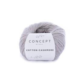 Katia Concept Cotton-Cashmere 56 - Steengrijs