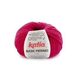 Katia Basic Merino 40 - Licht fuchsia