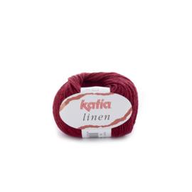 Katia Linen 24 - Wijnrood