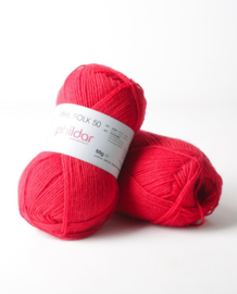 Phildar Folk 50 Rouge Pompier