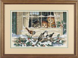 BORDUURKIT THREE BIRD WATCHERS