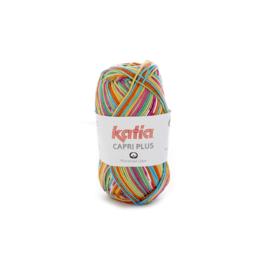 Katia Capri Plus 104 - Pistache-Oranje-Turquoise-Fuchsia