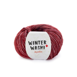 Katia Winter Washi 207 - Wijnrood
