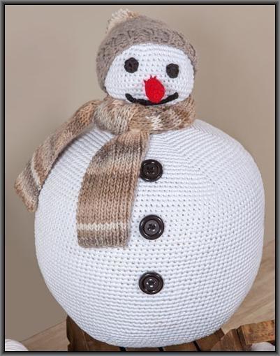 Big ribbon sneeuwpop kl 1