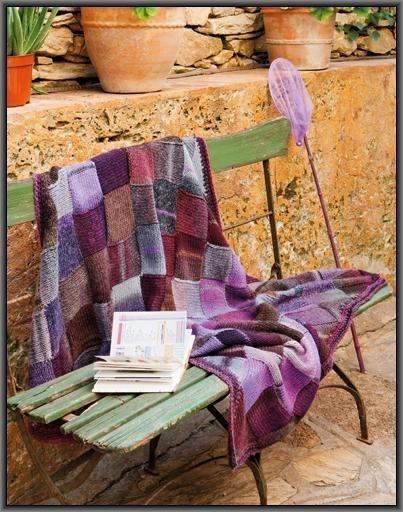 Azteca deken kl 7838-7832 + Gratis Patroon