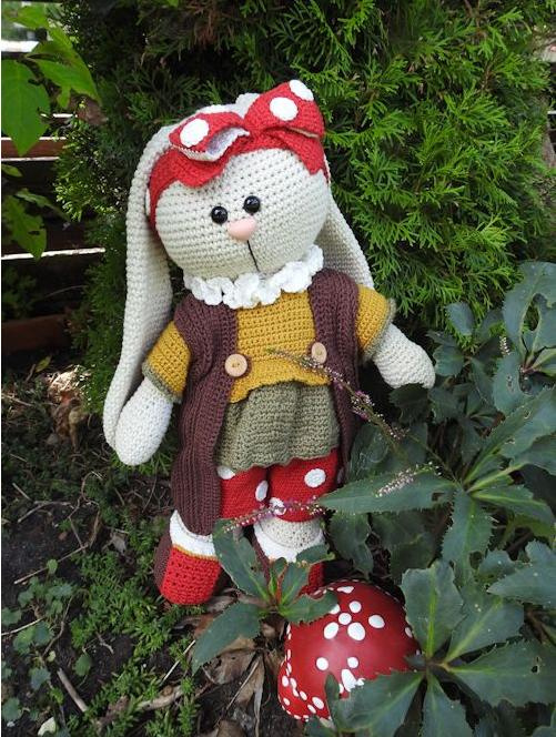 XXL Funny Bunny kledingset Dots herfst