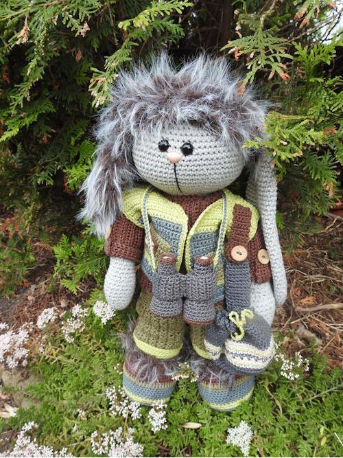 XXL Funny Bunny kledingset Ranger Davy